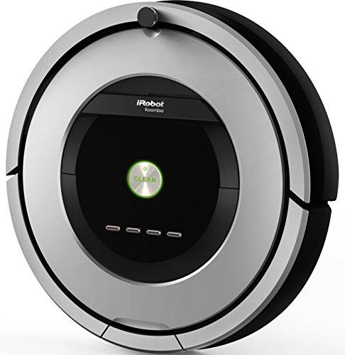 iRobot Roomba 886Staubsaugerroboter (beutellos, für Teppiche, Laminat, Linoleum, Parkett und Holzböden) schwarz/grau - 2