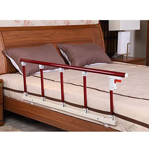 HEJINXL Tragbare Anti-Fall Faltbar Pflegebett Einzelbett Rail für Erwachsene Behinderte Einzelpersonen Senioren Geländer Betten, 2 Größen (Color : B, Size : 120x40cm)