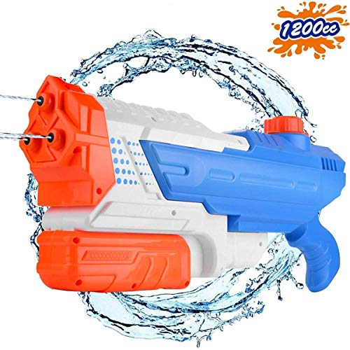 Conthfut Water Guns Squirt Guns High Capacity 1200CC Water Blaster 32 FT Water Toys for Kids Summer...