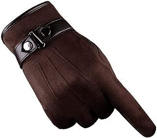 Anti Slip Men Warm Motorcycle Ski Snow Snowboard Gloves Car-Styling Motorcycle Gloves Coffee