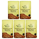 Wright's Baking Cheddar Cheese & Cebolla Pan Mix 500g (Paquete de 5)