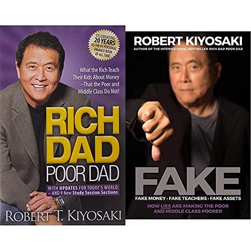 Rich Dad Poor Dad + FAKE: Fake Money, Fake Teachers, Fake Assets