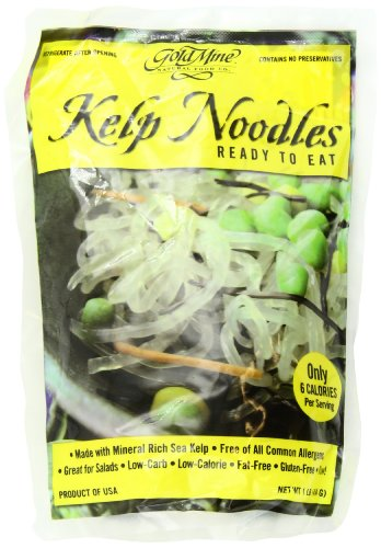 Gold Mine Kelp Noodles, 16-Ounce (Pack of 6)