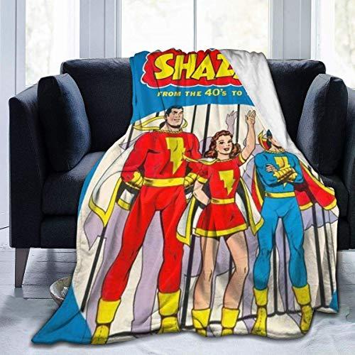dongtai Sh-Az-Am Männer, Frauen und Kinder ganzjährig Bettdecke werfen Leicht, schwarz, 80 '' X60