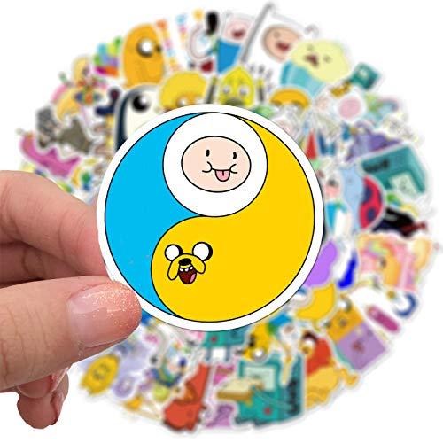 YMSD Adventure Live Treasure Cartoon doodle sticker caso del teléfono taza agua cuerpo impermeable decorativo etiqueta engomada 100pcs