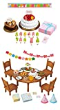 2 Sets - Fun and Party Theme - Birthday Cake and Home Party Sets (Japan Import)