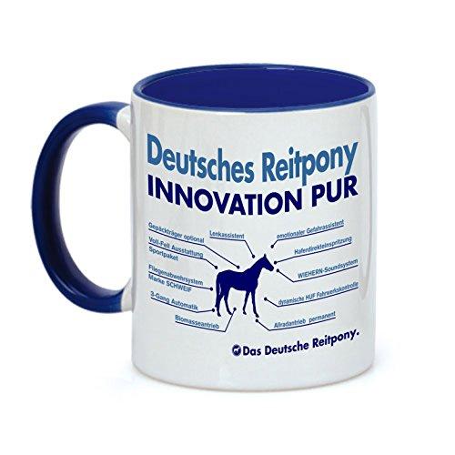 Tasse INNOVATION - DEUTSCHES REITPONY Pony - Pferde Pferd Teileliste Pferd Kaffeebecher Siviwonder