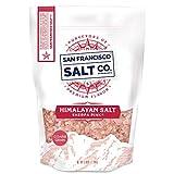 Sherpa Pink Himalayan Salt - 5 lb. Bag Coarse Grain - For Grinders and Salt Mills