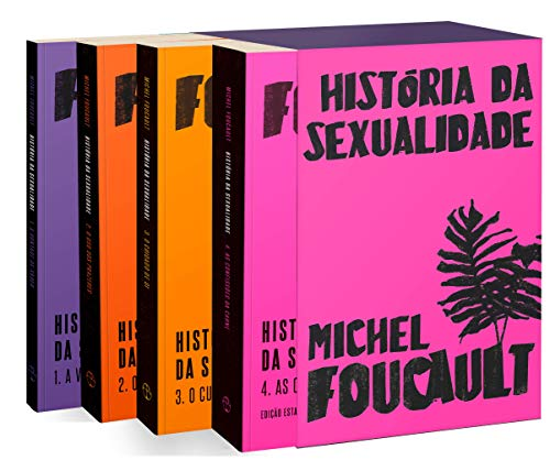 Box História da Sexualidade - Exclusivo Amazon