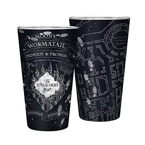 ABYstyle - Harry Potter - Bicchiere XXL - 400 ml - Mappa del Malandrino