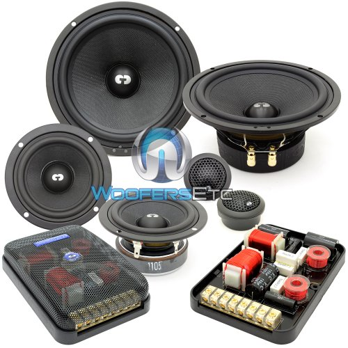 Check Out This ES-632i - CDT Audio 6.5 3 230W RMS 3-Way ES-Gold Series Component Speakers System