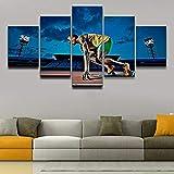 BAIOKAISHUII Modulare Leinwand Bilder Wandkunst Jungen