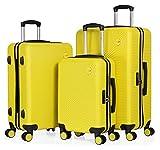 CABIN GO – Set di 3 valigie - bagaglio a mano da 55 cm,...