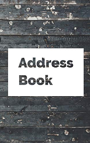 Address Book: 8 x 5 Inches Classic Address Book Alphabetical Organizer Journal Notebook For Recording Contact Name, Address, Phone and Fax Numbers, Emails, and Notes (Volume 9)