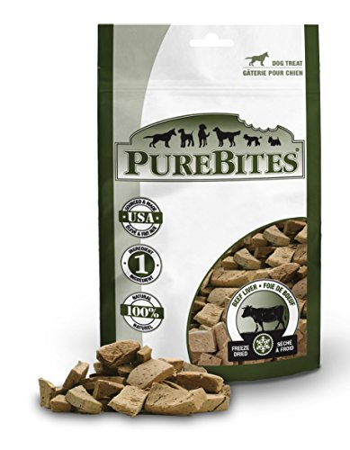 PureBites 1Pb470Bl Beef Liver For Dogs, 16.6Oz / 470G - Super Value Size