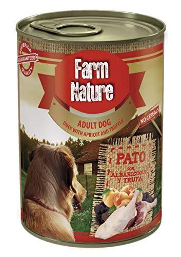 400 GR Farm nature duck/apricot/truffle hondenvoer