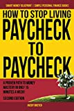books on frugality - front cover image of how to stop living paycheck to paycheck