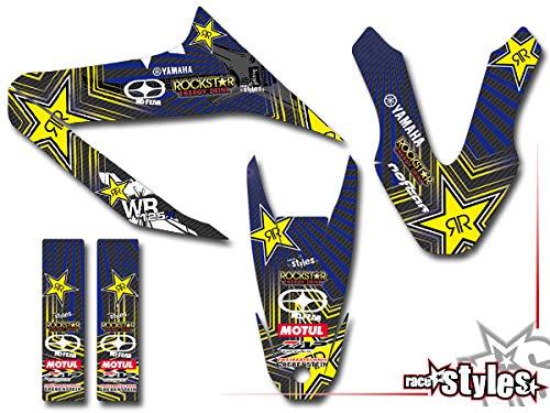 Yamaha WR 125R!!! Premium Factory DEKOR Decals Sticker Aufkleber KIT 09-17