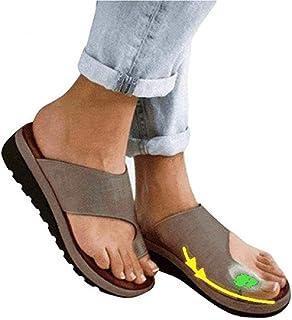 Sandales Plates Femmes Confortables Orthopedique Chaussures Plateforme - 2020 Newest Été Sandales Femmes Sandales Plates T...