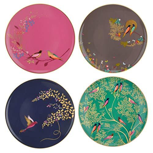 Sara Miller London Chelsea Kuchenteller, Keramik, Mehrfarbig, 215 x 215 x 60 cm