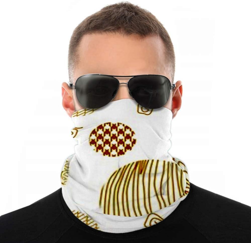 Headbands For Men Women Neck Gaiter, Face Mask, Headband, Scarf Abstract Background Japanese Art Motifs Seamless Turban Multi Scarf Double Sided Print Headbands For Sport Outdoor