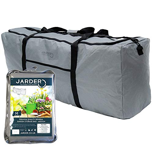 Jarder Garden Storage Bag for Tools, Toys, Cushions, Water Resistant (Medium)