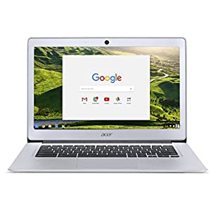Acer Chromebook 14 CB3-431 - (Intel Celeron N3160, 4GB RAM, 32GB eMMC, 14 inch FHD Display, Google Chrome OS, Silver) 8