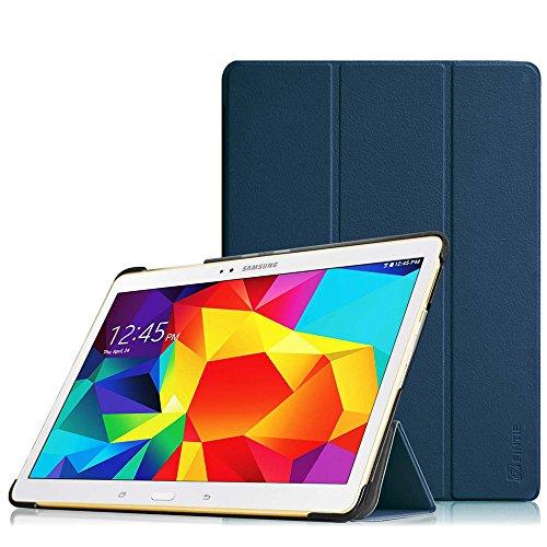 Fintie Hülle für Samsung Galaxy Tab S 10.5 T800 T805 (10,5 Zoll) Tablet-PC - Ultra Schlank superleicht Ständer SlimShell Cover Schutzhülle Etui Tasche mit Auto Schlaf/Wach Funktion, Marineblau