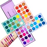 Beauty Glazed Makeup Palette 60 Colors Supper Pigmented Color Board Long Lasting Eyeshadow Palette Mattes and Shimmers Blendable Eye Shadow Make Up Professional Eye Cosmetic
