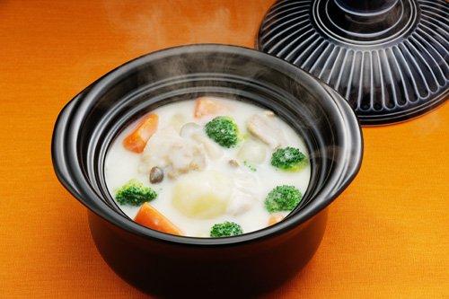 『萬古焼 銀峯陶器 菊花 ごはん土鍋 (瑠璃釉, 2合炊き)』のトップ画像