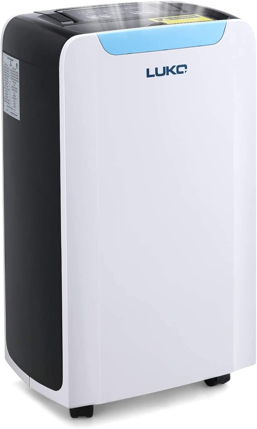 LUKO 30 Charlotte Mall Special Campaign Pint 1600 SQ FT Continuous Drain Home Dehumidifiers with