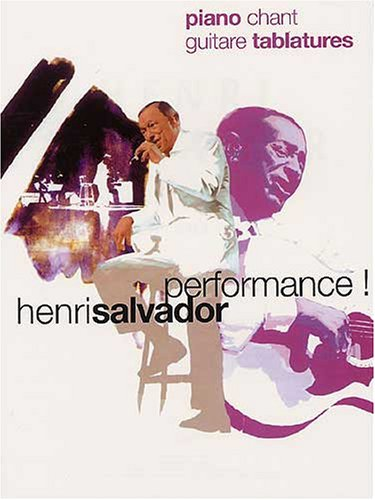 Salvador henri performance p /chant/tab