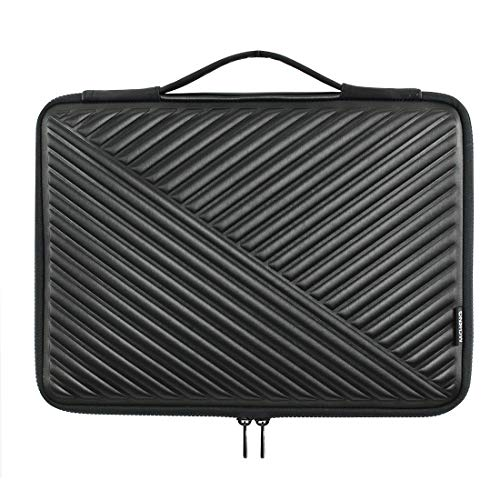 MCHENG 15.6 Inch Water-Resistant Laptop Sleeve Case Notebook Protective Carrying Bag with Handle for 15.6' Computer / 15.6' Lenovo Yoga 720 / IdeaPad 310 320 / ThinkPad T570,Black