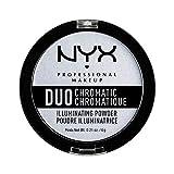 Nyx Professional Makeup Polvos Iluminadores Duo Chromatic Tono 1 Twilight Tint 6 G