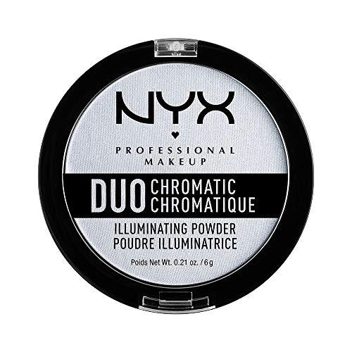 NYX Professional Makeup Puder - für einen frischen, natürlichen Look, strahlendes Finish, Duo...