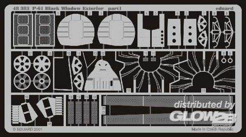 Eduard Accessories 48383 Modélisme Accessoires P de 61 Black Widow Exterior