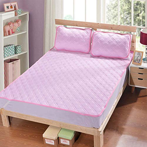 Cooling Tatami Floor Mattress Pad Cover,ice Silk Mattress Topper, Breathable Soft Japanese Futon For Hot Summer,foldable And Portable-b 120x200cm(47x79inch)