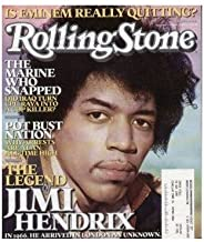 Rolling Stone Magazine # 980 August 11 2005 Jimi Hendrix (Single Back Issue)