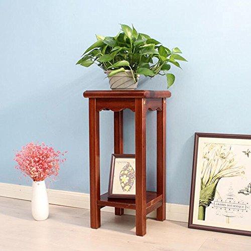 Étagères à fleurs polyvalentes Plancher de fleur de plancher étagère à plusieurs étages pour balcon salon intérieur Pour intérieur et extérieur (taille : 60 cm)