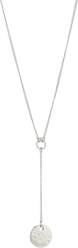 Disc Y-Necklace 18""
