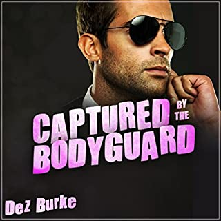 Captured by the Bodyguard audiobook cover art