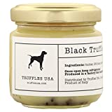 TRUFFLES USA Black Truffle Butter 2.82 oz Jar - Imported from Italy – Unique Gourmet Recipe Made with Natural Italian Ingredients - A Rich Delicacy Known as the Diamond of the Kitchen