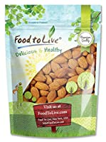 Raw Almonds By Food to Live (Whole Shelled Unsalted Kosher Bulk) ? 1 Pound [並行輸入品]