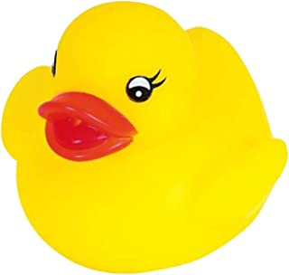 Novelty Place [Float & Squeak] Rubber Duck Ducky Baby Bath Toy for Kids (12 Pcs)