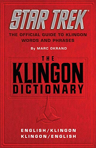 The Klingon Dictionary: The Official Guide to Klingon