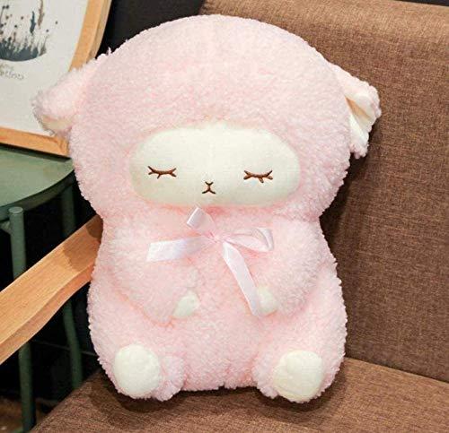 Knuffels gevulde lammetjes poppen op kussens gevuld speelgoed schattig roze meisje 30 cm