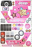 MLToys Replacement Stickers for Power Fisher Wheels Barbie Jeep Wranglers