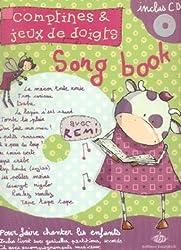 Partition : Comptines et jeux de doigts : Le Songbook de Rémi - Chant et piano - Partition + CD <font color=#FF0000><b>+ une k7 en cadeau !</b></font>