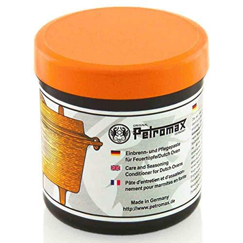 Petromax Einbrenn- und Pflegepaste lebensmittelecht für Feuertöpfe Dutch Oven