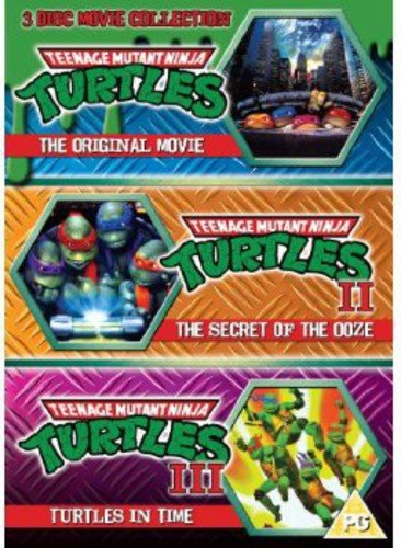 Teenage Mutant Ninja Turtles - The Movie Collection: 3DVD Set (Teenage Mutant Ninja Turtles/Secret Of The Ooze/Turtles In Time) [UK Import]